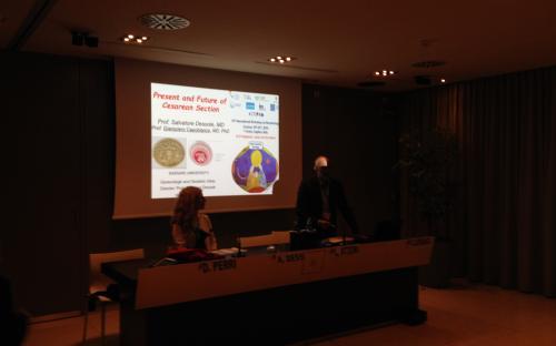 Dr. Angelica Dessì (moderator), Prof. Luigi Atzori (chairman)